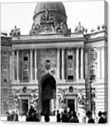 Vienna Austria - Imperial Palace - C 1902 Canvas Print