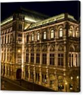 Vienna State Opera Canvas Print