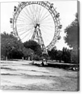 Viennese Giant Wheel Canvas Print