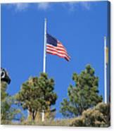 Vietnam Memorial Angel Fire New Mexico Canvas Print