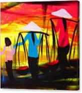Vietnamese Women V2 Canvas Print