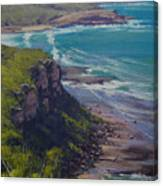 View Across Frazer Beach  Nsw Australia Canvas Print