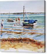 View Across Provincetown Harbor Canvas Print