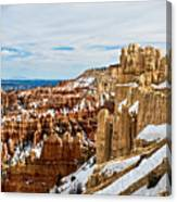 View Along The Ridge Canvas Print