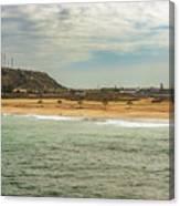View At La Loberia Beach In Salinas, Ecuador  Canvas Print