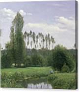View At Rouelles Canvas Print