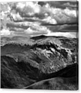 View From Atop Winter Park Mountain 3 Canvas Print