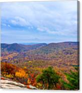 View From Bear Mountain Canvas Print