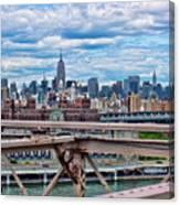 View From Brooklyn Bridge Canvas Print