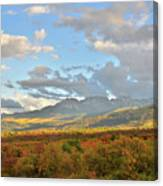 View From Dallas Divide Canvas Print