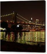 View From Dumbo Canvas Print