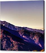 View From Eleven Ranges Overlook Canvas Print