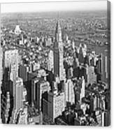 View From Empire State Bldg. Canvas Print