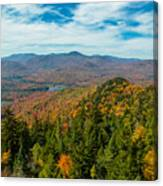 View From Goodnow Canvas Print