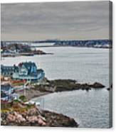 View From Marblehead Lighthouse Canvas Print