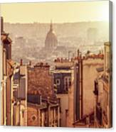 View From Montmartre Canvas Print