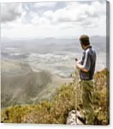 View From Mt Zeehan Tasmania Canvas Print