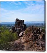 View From Piestewa Peak Canvas Print