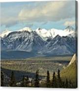 View From Sulpher Mountain Canvas Print