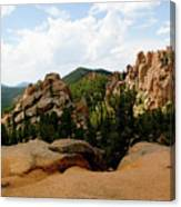 View From The Crags Canvas Print
