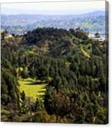 View From The Griffith Observatory 0792 Canvas Print