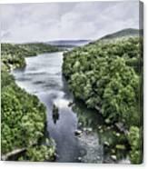 View From The Monksville Bridge Canvas Print