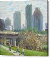 View From The Skate Board Park Canvas Print