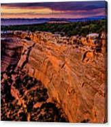 View From Upper Ute Canyon, Colorado National Monument Canvas Print