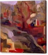 View From Vermont Bridge Canvas Print