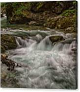 View In Vintgar Gorge #2 - Slovenia Canvas Print
