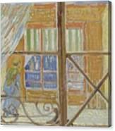 View Of A Butcher S Shop Arles, February 1888 Vincent Van Gogh 1853  1890 Canvas Print