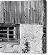 View Of Barn Exterior Canvas Print