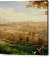 View Of Bradford Canvas Print