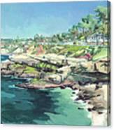 View Of Brockton Villa, La Jolla, California Canvas Print