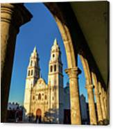 View Of Cathedral And Arches Canvas Print