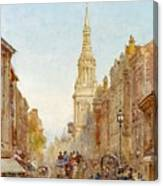 View Of Church Of Mary Canvas Print