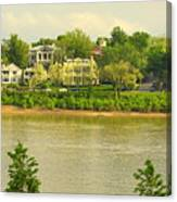 View Of Covington Kentucky Canvas Print