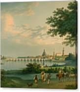 View Of Dresden Canvas Print