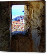 View Of Dubrovnik  Canvas Print