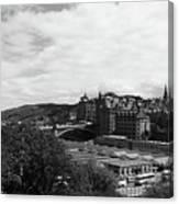 View Of Edinburgh Canvas Print