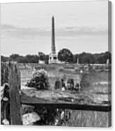 View Of Gettysburg  Canvas Print