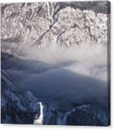 View Of Julian Alps From Vogel Mountain Canvas Print