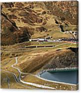 View Of Kleine Scheidegg Canvas Print