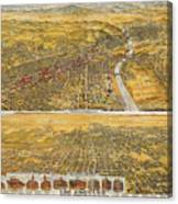 View Of Los Angeles, 1894 Canvas Print