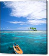 View Of Micronesia Canvas Print