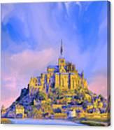 View Of Mont Saint Michel Canvas Print