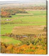 View Of Ottawa Valley In Autumn 13 Canvas Print