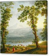 View Of Piedimonte Canvas Print