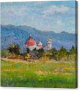 View Of Pisa From Countryside Canvas Print