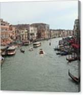 View Of Rialto Bridge Canvas Print
